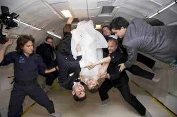 7. Zero Gravity e1320408754921 Top 10 Weirdest Wedding Venues