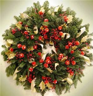 8. Christmas Tree Wreath Top 10 Best Christmas Wreath Ideas