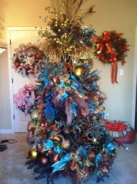 9. Blue and Copper Christmas tree e1321000823858 Top 10 Christmas Tree Deorating Ideas