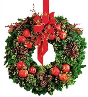 9. Fruit Selection Wreath Top 10 Best Christmas Wreath Ideas