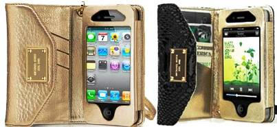 9. Michael Kors Wallet Clutch Top 10 Best iPhone 4S Covers
