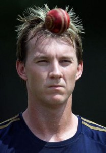 brett lee 208x300 Top 10 Most Famous Prevalent Cricket Stars