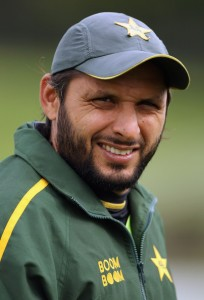 shahid afridi3 204x300 Top 10 Most Famous Prevalent Cricket Stars