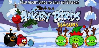 1. Angry Birds Seasons Wreck the Halls 10 Must Have Apps for Christmas Holidays 2011