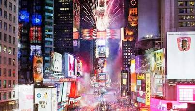 1. New York City New York Top 10 New Year's Eve Party Destinations 2012   [US]