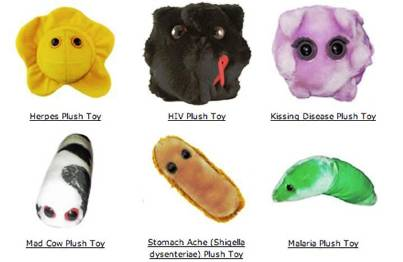 10. Giant Microbes Plush Toys 10 Best Gifts under $20