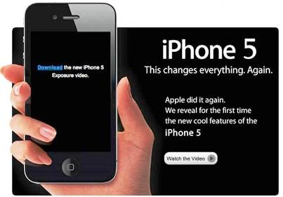 2. iPhone 5 10 Most Anticipated Gadgets of 2012