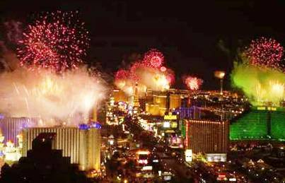 3. Las Vegas Nevada Top 10 New Year's Eve Party Destinations 2012   [US]