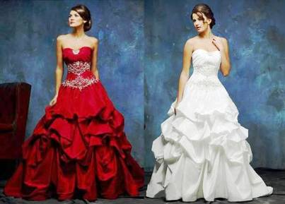 4. Casrin Bridal Floor Length Cornislk Taffeta Zipper Up Wedding Dress 10 Best Winter Wedding Dresses 2011   2012