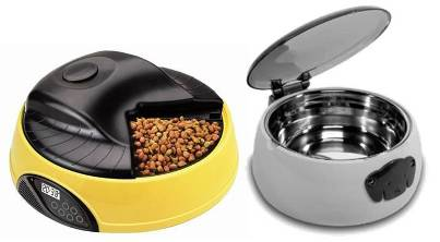 4. Electronic Feeding Dish 10 Unique and Best Gift Ideas for Dogs