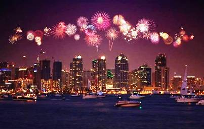 4. San Diego California Top 10 New Year's Eve Party Destinations 2012   [US]