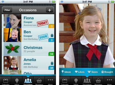 6. Gift Plan 10 Must Have Apps for Christmas Holidays 2011