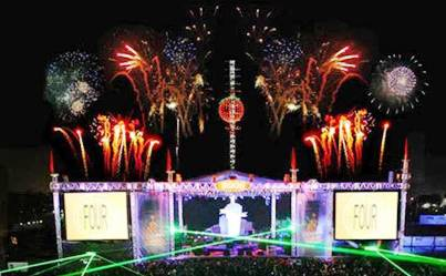 6. Los Angeles California Top 10 New Year's Eve Party Destinations 2012   [US]