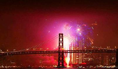 7. San Francisco California Top 10 New Year's Eve Party Destinations 2012   [US]