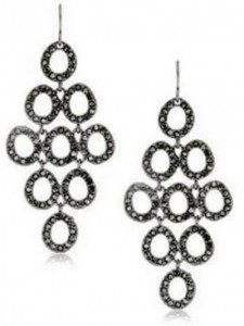 7. Urban Caviar Hematite Pave Circle Chandelier Earrings 225x300 7. Urban Caviar Hematite Pave Circle Chandelier Earrings
