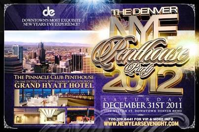 9. Denver Colorado Top 10 New Year's Eve Party Destinations 2012   [US]