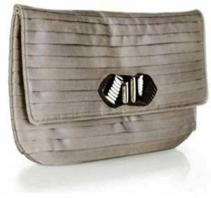 9. Gray Deco Clasp Clutch Bag 300x282 9. Gray Deco Clasp Clutch Bag