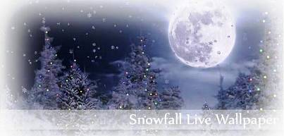 9. Snowfall Live Wallpaper 10 Must Have Apps for Christmas Holidays 2011