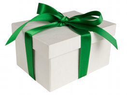 green gift box 10 Best Eco Friendly Gifts
