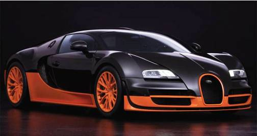 1. Bugatti Veyron Super Sport Top 10 Fastest Cars   2012