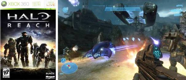 1. Halo Reach Top 10 Best First Person Shooter Games in 2012