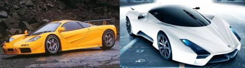 10. McLaren F1 SSC Tuatara Top 10 Most Expensive Cars   2012