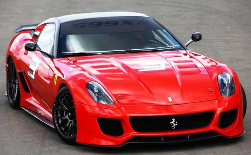 2. Ferrari 599XX Top 10 Most Expensive Cars   2012