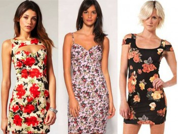 2. Floral Colors Are Refreshing e1325868022459 Top 10 Best Valentine's Day Dress Ideas for Women in 2012