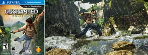 2. Uncharted Golden Abyss Top 10 Best PlayStation Vita Games