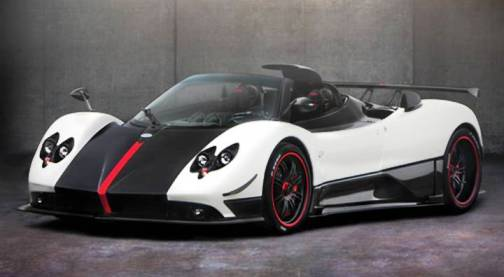 3. Pagani Zonda Clinque Roadster Top 10 Most Expensive Cars   2012