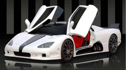 3. SSC Ultimate Aero Top 10 Fastest Cars   2012