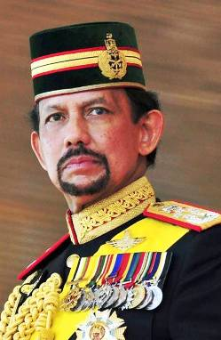 3. Sultan Hassanal Bolkiah Top 10 Richest Politicians in 2012