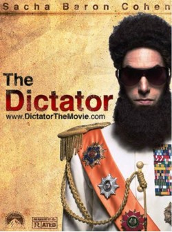 3. The Dictator e1327404555161 Top 10 Most Anticipated Funny Movies of 2012