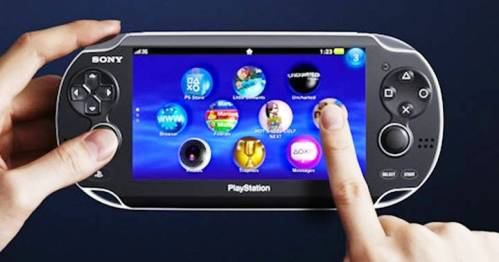 3. Touch Screen Top 10 New Features in PS Vita   Specs