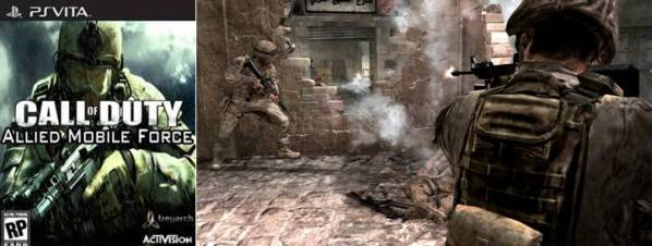 4. Call of Duty Allied Mobile Force Top 10 Best PlayStation Vita Games