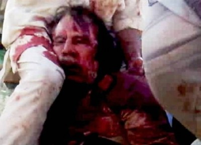 4. Fall of Libyan Leader Muammar Gaddafi e1327462676220 10 Most Devastating Moments of 2011 – 2012