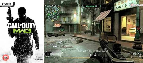5. Call of Duty Modern Warfare 3 Top 10 Best First Person Shooter Games in 2012