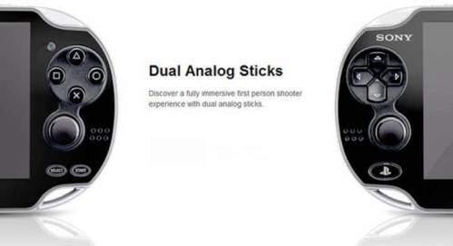 5. Dual Analog Sticks Top 10 New Features in PS Vita   Specs
