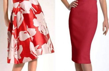 Red Skirts For Women