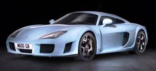 8. Noble M600 Top 10 Fastest Cars   2012