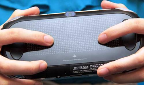 8. Rear Touch Pad Top 10 New Features in PS Vita   Specs
