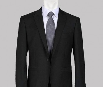 9. Black Suit with Plain Shirt in a Formal Date e1326193103875 Top 10 Best Valentine's Day Dress Ideas For Guys