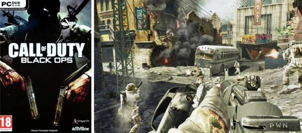 9. Call of Duty Black Ops Top 10 Best First Person Shooter Games in 2012