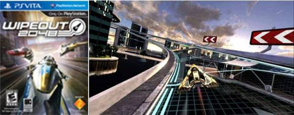 9. WipeOut 2048 Top 10 Best PlayStation Vita Games