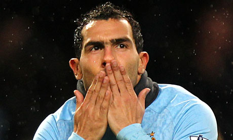 Carlos Tevez Top 10 Best Soccer Players in 2012