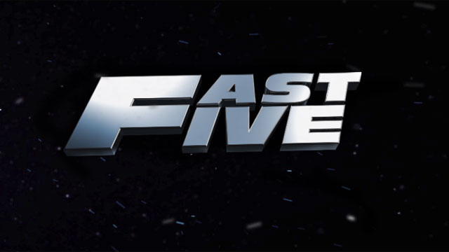 Fast Five Top 10 Highest Grossing Hollywood Films of 2011