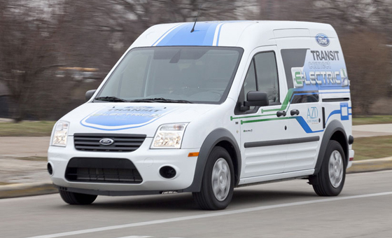 Ford Transit Connect Electric 2012 Top 10 Most Fuel Efficient Cars   2012