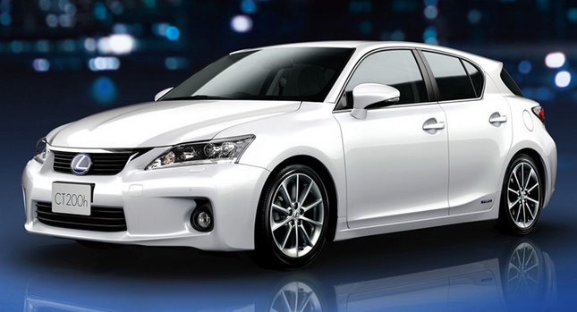 Lexus CT200h 2012 Top 10 Most Fuel Efficient Cars   2012