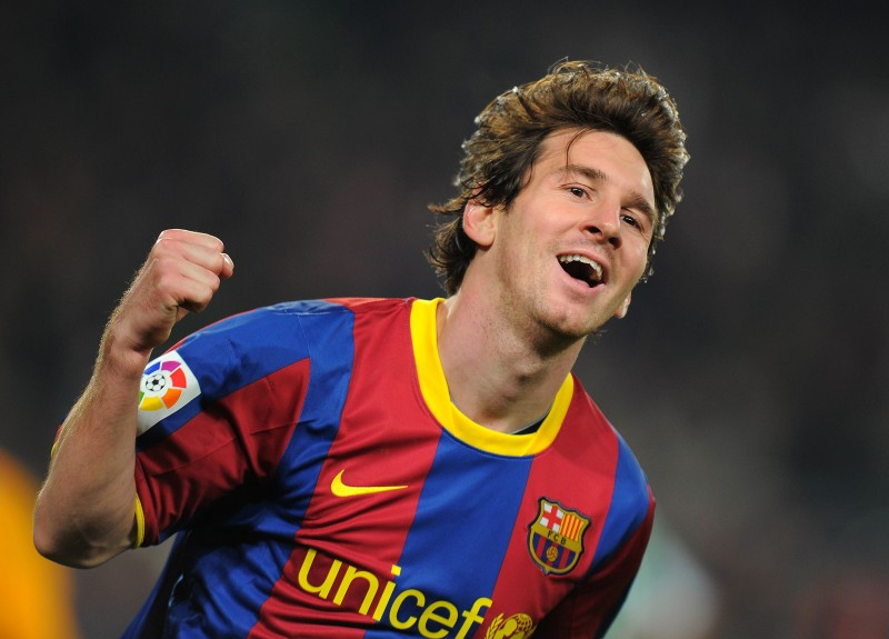 Lionel Messi Top 10 Best Soccer Players in 2012