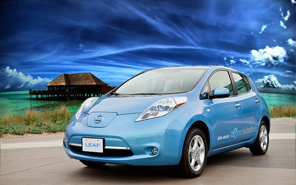 Nissan Leaf 2012 Top 10 Most Fuel Efficient Cars   2012
